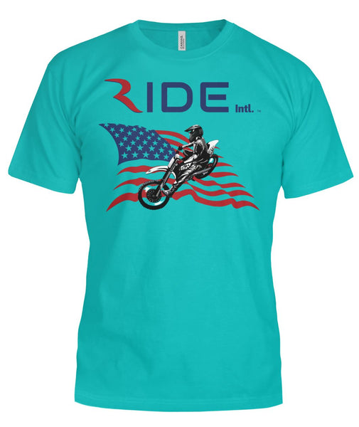 Moto X USA Premium T - RIDE International