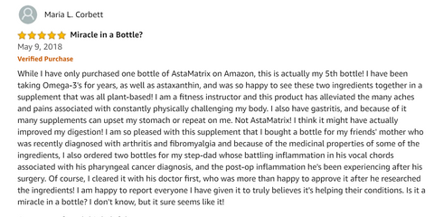 AstaMatrix Review that is a miracle in a bottle