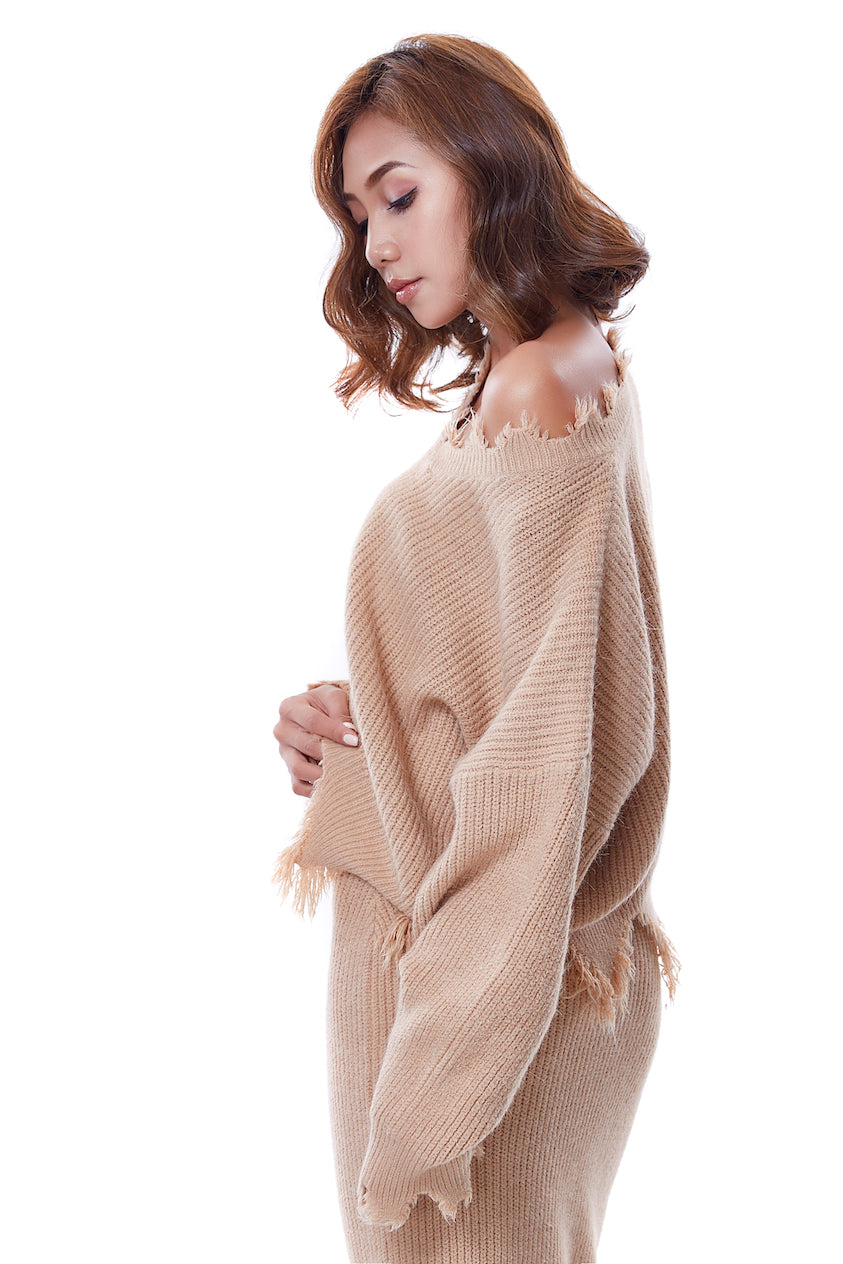 Zoey Sweater - Caramel