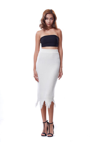 Zoey Skirt - Off White