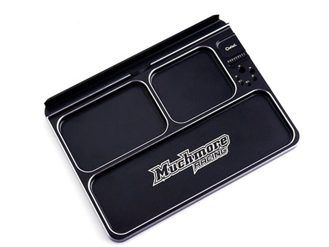 #MR-APTK3 -Luxury Aluminum Part Tray 3 Black