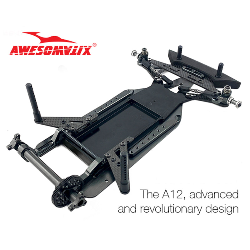 #A12  - Awesomatix A12 1/12 Electric Pan Car