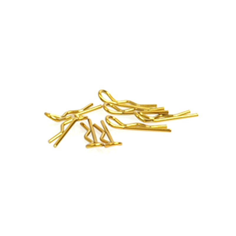 #CR062 - Small Body Clip 1/10 - Gold