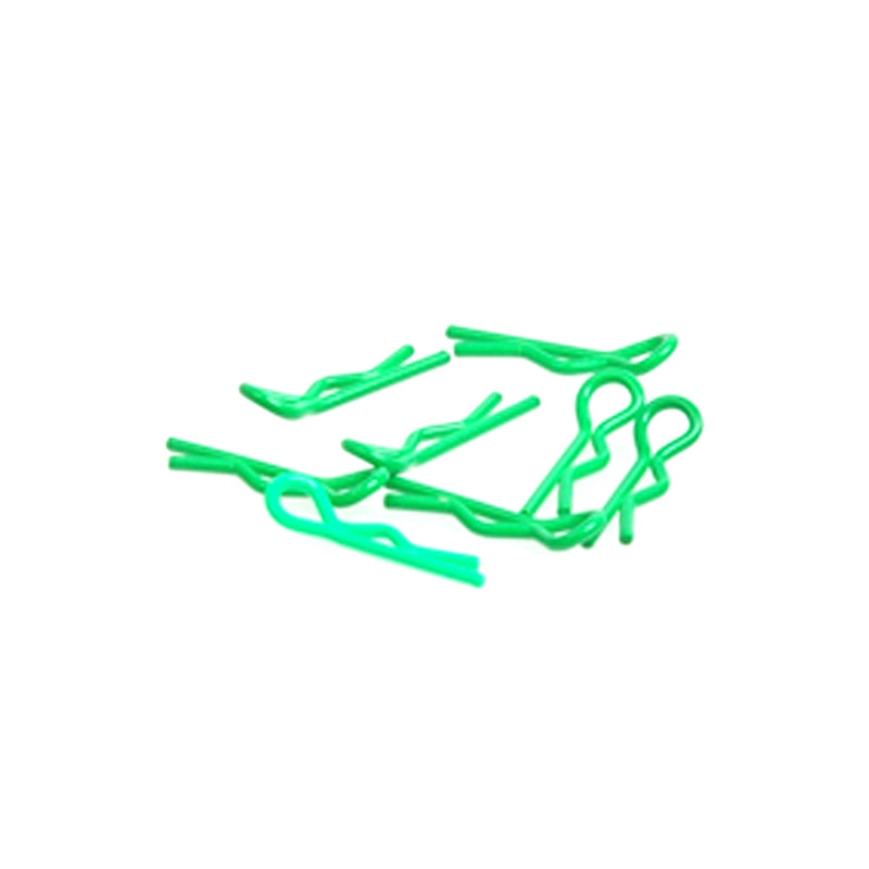 #CR064 - Small Body Clip 1/10 - Fluorescent Green