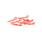 #CR065 - Small Body Clip 1/10 - Fluorescent Red