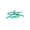 #CR066 - Small Body Clip 1/10 - Metallic Green