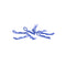 #CR068 - Small Body Clip 1/10 - Metallic Blue
