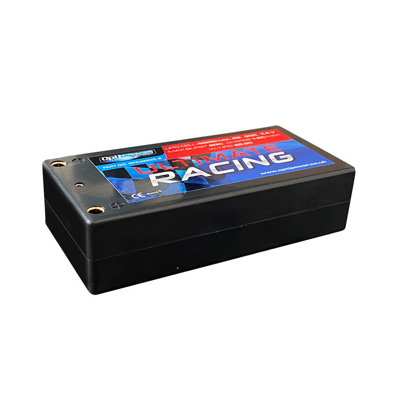 "#OPR40002S-B - 2S 4000mAh ""Shorty"" Race Pack"