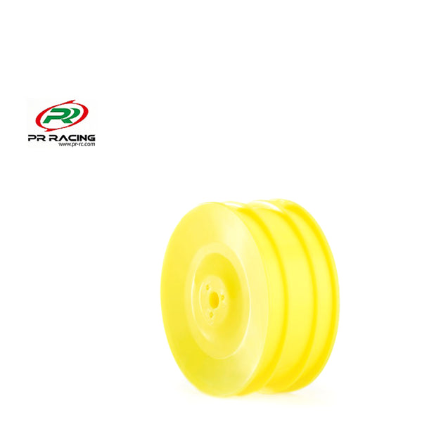 #PR68400266 -  1/10 4wd Front Buggy Wheel - 12mm Hex - Yellow (2pcs)