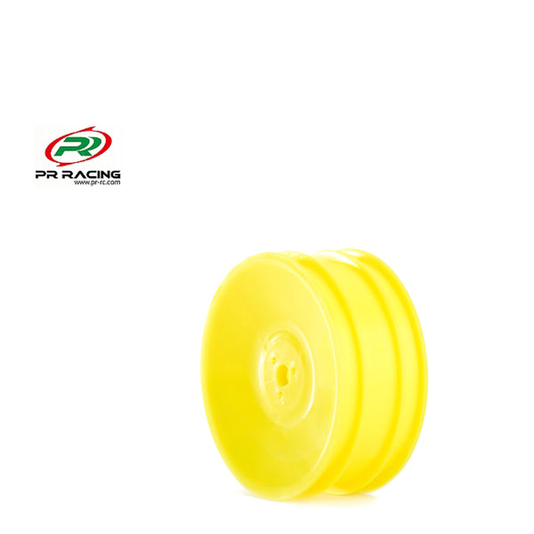 #PR68400286 - 1/10 2wd Front Buggy Wheel - 12mm Hex - Yellow (2pcs)
