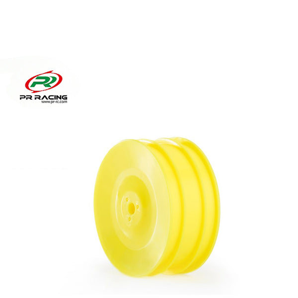 #PR68400386 - 1/10 4wd Front Buggy Wheel - 12mm Hex - Yellow (8pcs)