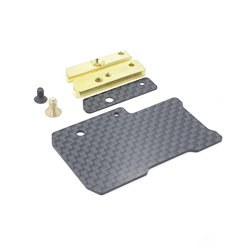 #RCM-FEPT4C - XRAY T4-2020 Floating Electronics Weight Plate Set (Carbon)