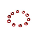 #TA-001R - TWORK's Aluminum M3 Countersink Washer RED