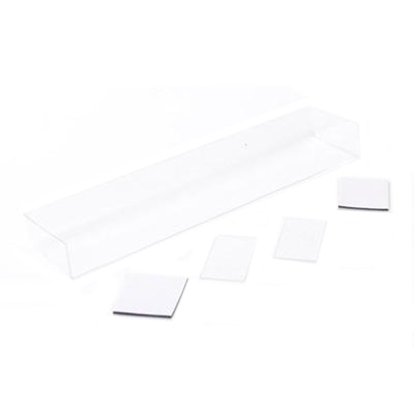#U5119 - Touring Car Wing + 2 End Plates Clear