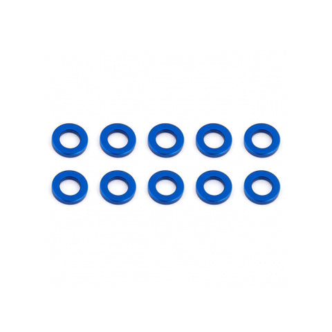 #AS31382 - BALLSTUD WASHERS 5.5 x 1.0mm BLUE ALUMINIUM