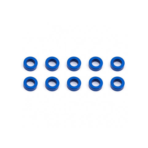 #AS31383 - BALLSTUD WASHERS 5.5 x 2.0mm BLUE ALUMINIUM