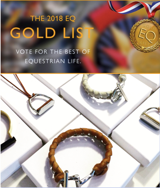 THE 2018 EQ GOLD LIST - AtelierCG™  favorite equestrian inspired jewelry