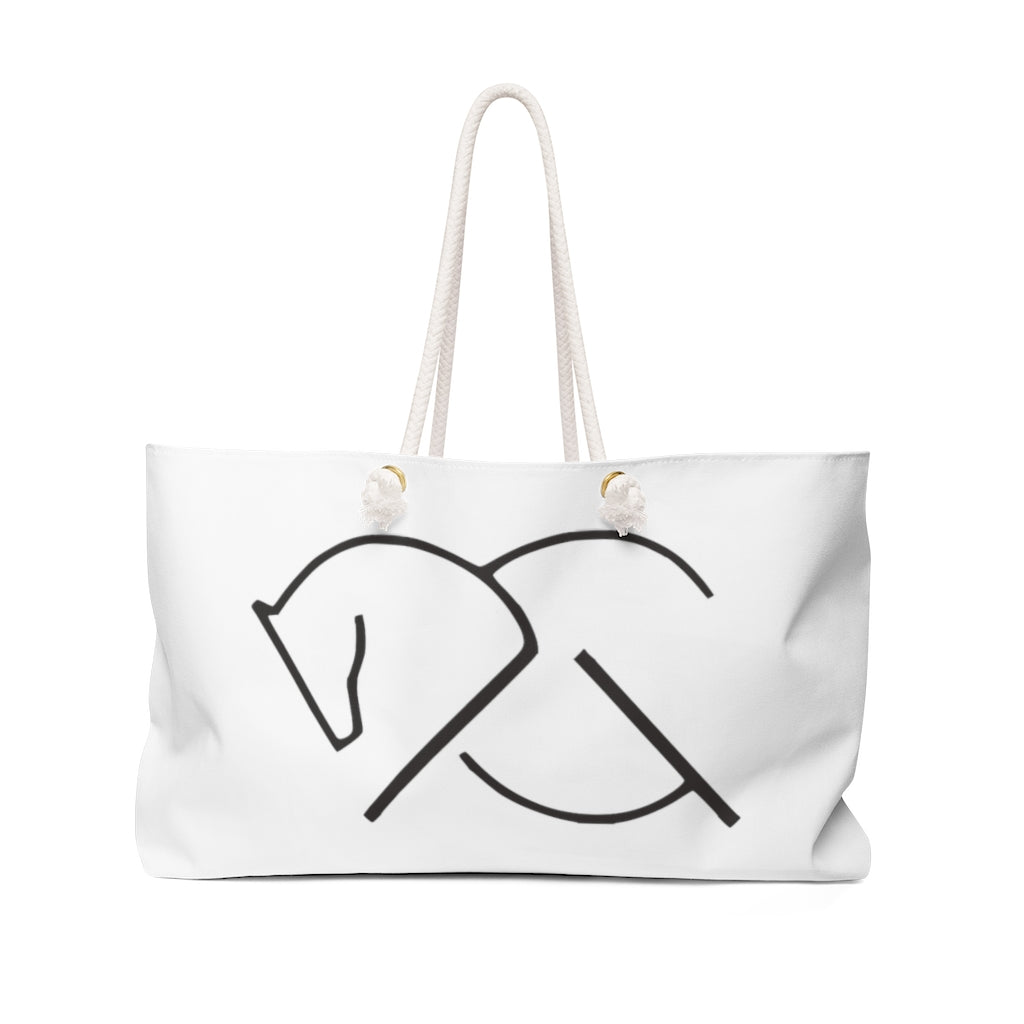 KHUMBA TOTE White | Barn Style | Equestrian Bag - AtelierCG™