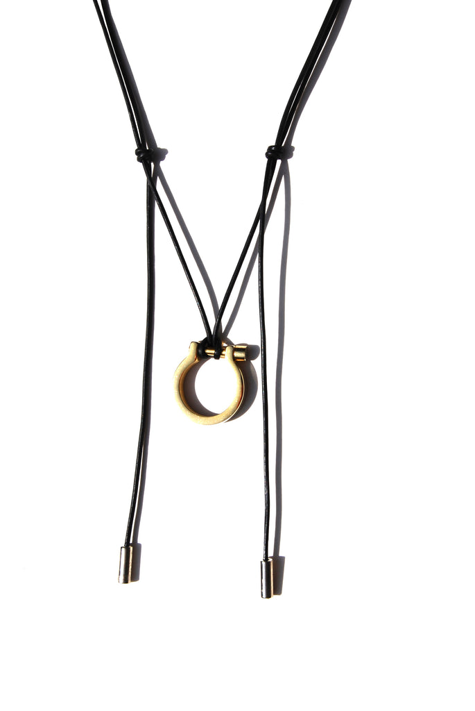 LUSITANO STIRRUP PENDANT - GOLD | Equestrian Jewelry | Equestrian Gifts - AtelierCG™