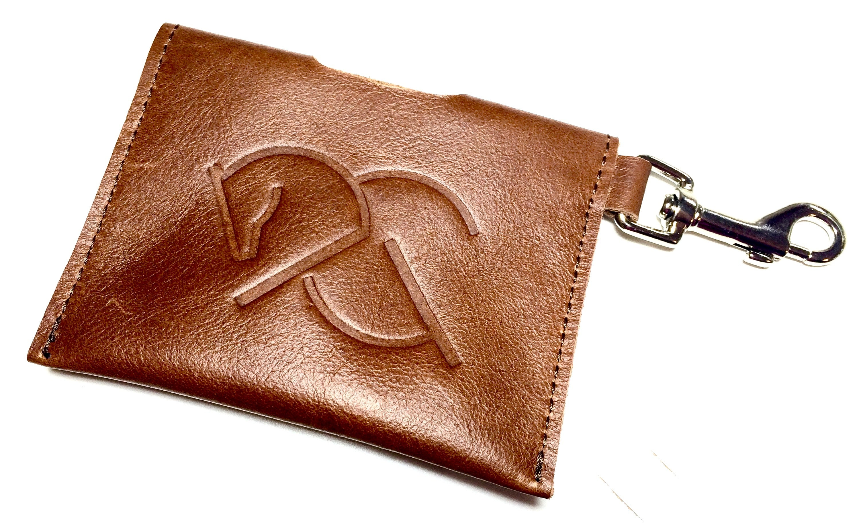 ACG CARD HOLDER in red dun, Leather Card Holder - AtelierCG™