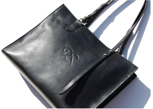 MARWARI MINI TOTE | Leather Handbag | Equestrian Tote Bag - AtelierCG™
