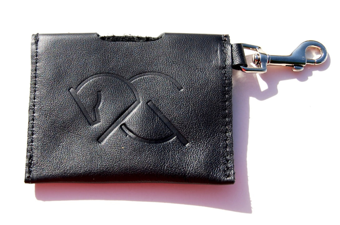 ACG CARD HOLDER in black, Leather Card Holder - AtelierCG™