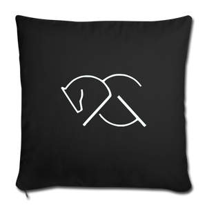 ACG THROW PILLOW COVER - Black - AtelierCG™ - black