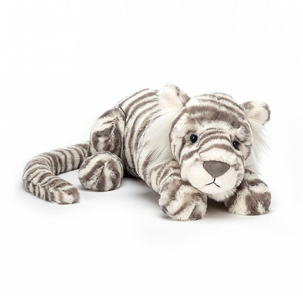 Sacha Snow Tiger Medium Jellycat