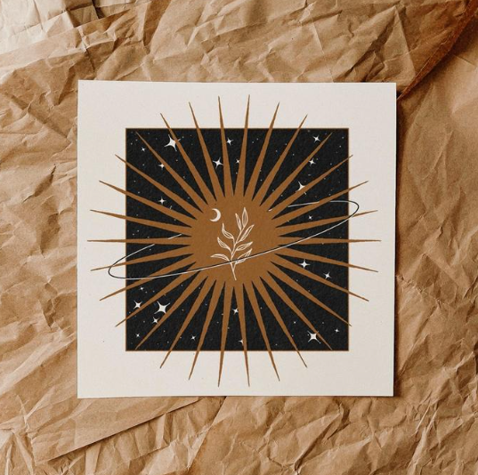 Around the Sun - print