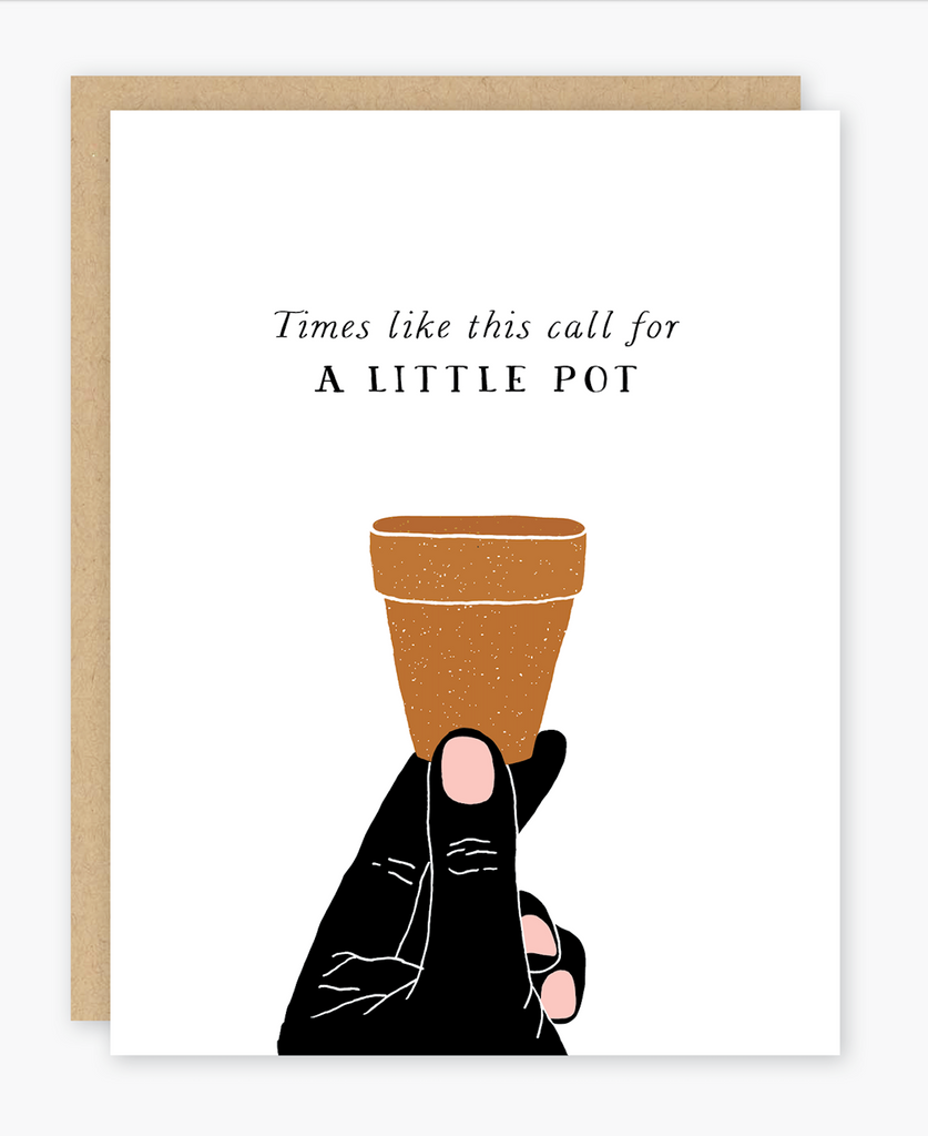 Everyday Card: A Little Pot Card