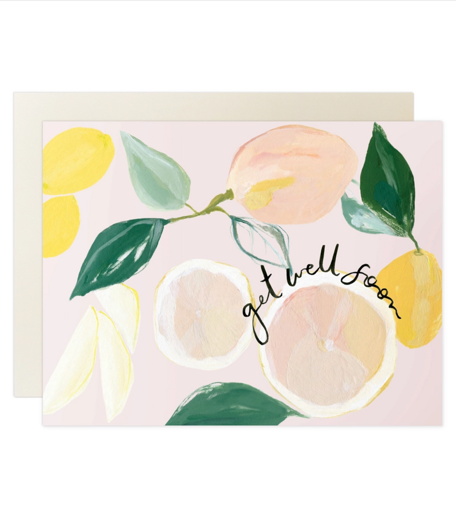 Get Well Soon Card: Citrus