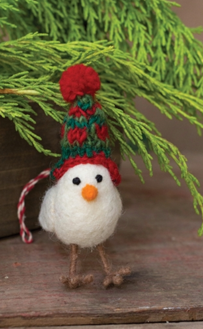 Pippy Ornament with a Hat