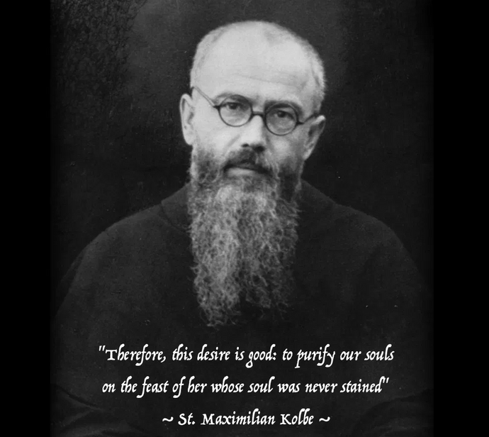 St. Maxamilian Kolbe: A final address to the knights of the Immaculata