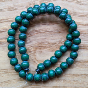 Dyed Wood Beads (HQ)