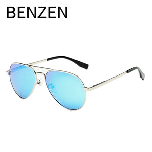 BENZEN Polarized Kids Sunglasses Vintage 4-12 Old UV Children Glasses Boy Sun Glasses  Girl Shades Accessories With Case 1010-Free Shipping