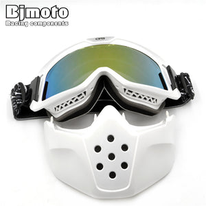 New Ski Glasses Motorcycle Goggles For Masque Motocross Goggles Helmet Glasses Windproof off Road Helmets Mask Goggles Skate Sun-Free Shipping