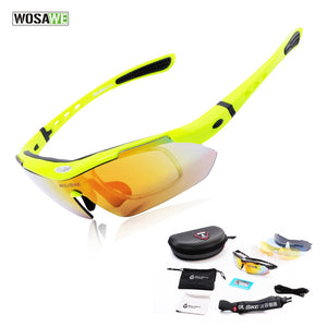 WOSAWE Polarized Cycling Sun Glasses Outdoor Sports Bicycle Glasses Bike Sunglasses Driving Racing Goggles Eyewear-Free Shipping