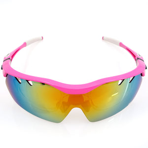 Hot! Polarized Cycling Sun Women Glasses Outdoor Sports Bicycle Glasses Bike Sunglasses TR90 Goggles Eyewear 5 Colors-Free Shipping