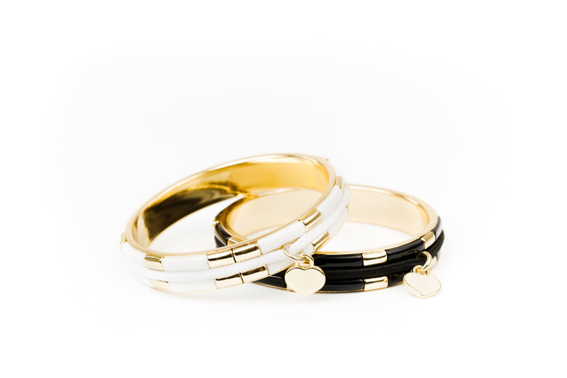 NEW!  Ebony & Ivory Collection - Gold