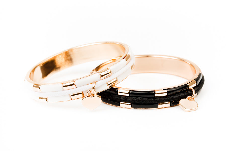 NEW!  Ebony & Ivory Collection - Rose Gold