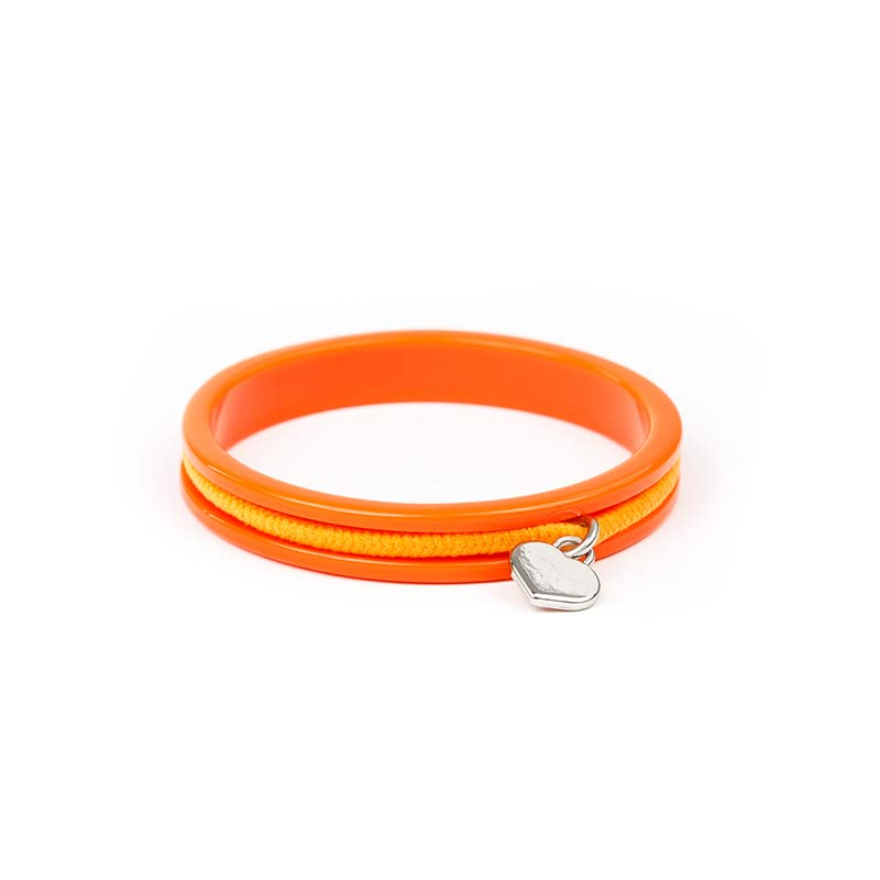 Busy Kids Bangles - 3 Pack - Orange, Green, Pink