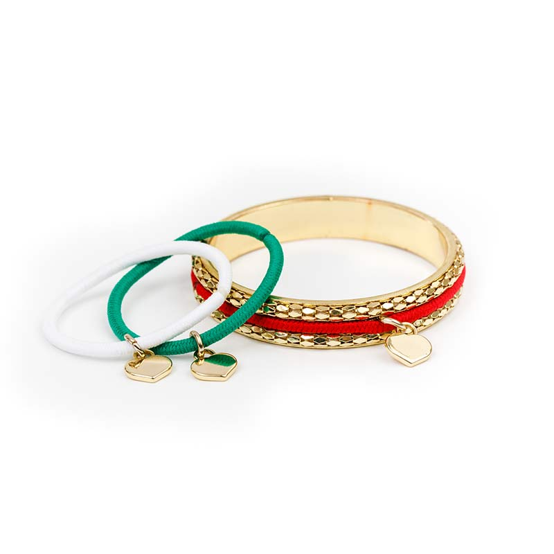 Christmas Collection - Glimmering Gold Bangle