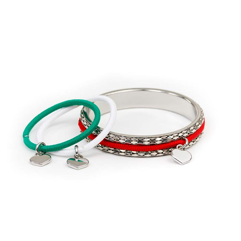 Christmas Collection - Shimmering Silver Bangle