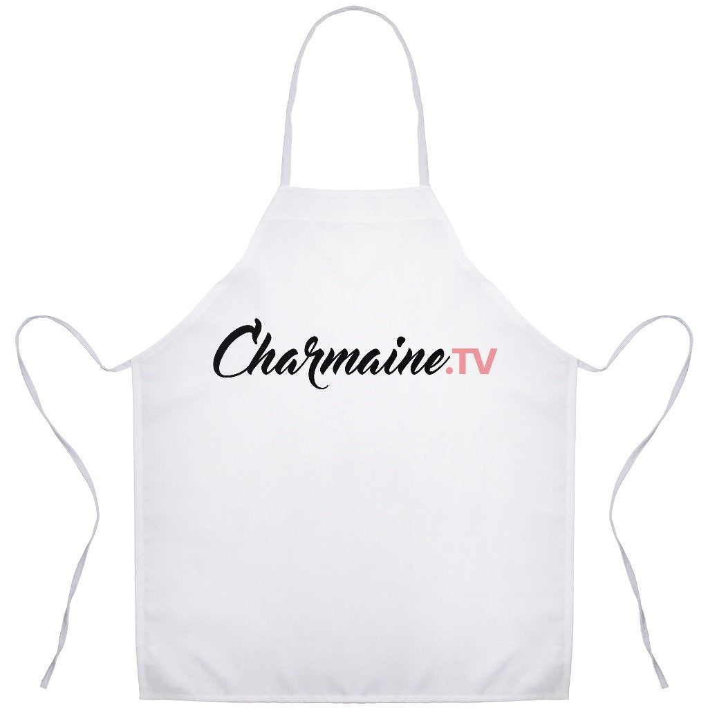 Charmaine.tv Apron - White