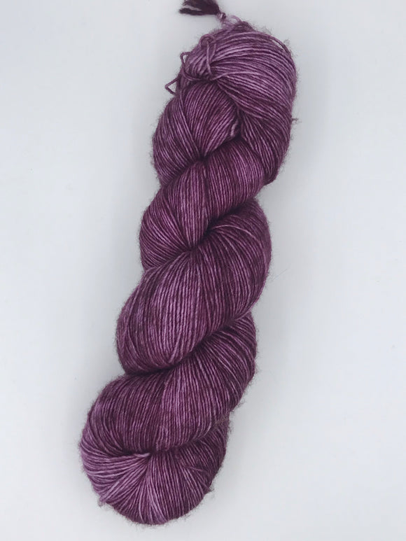 OOAK Purple Bloom Sock