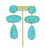 CIELO EARRINGS - TURQUOISE