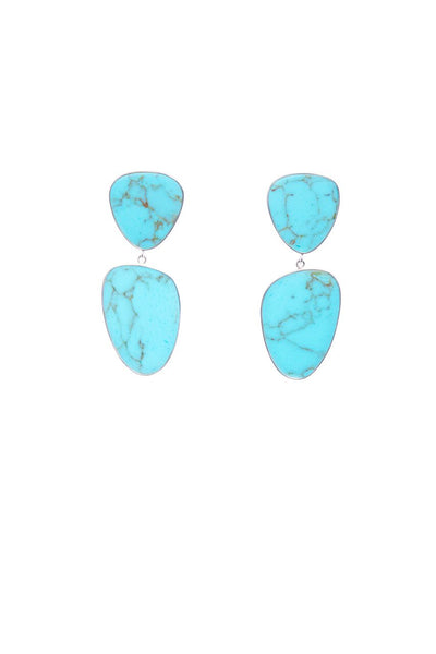 AURORA EARRINGS - TURQUOISE