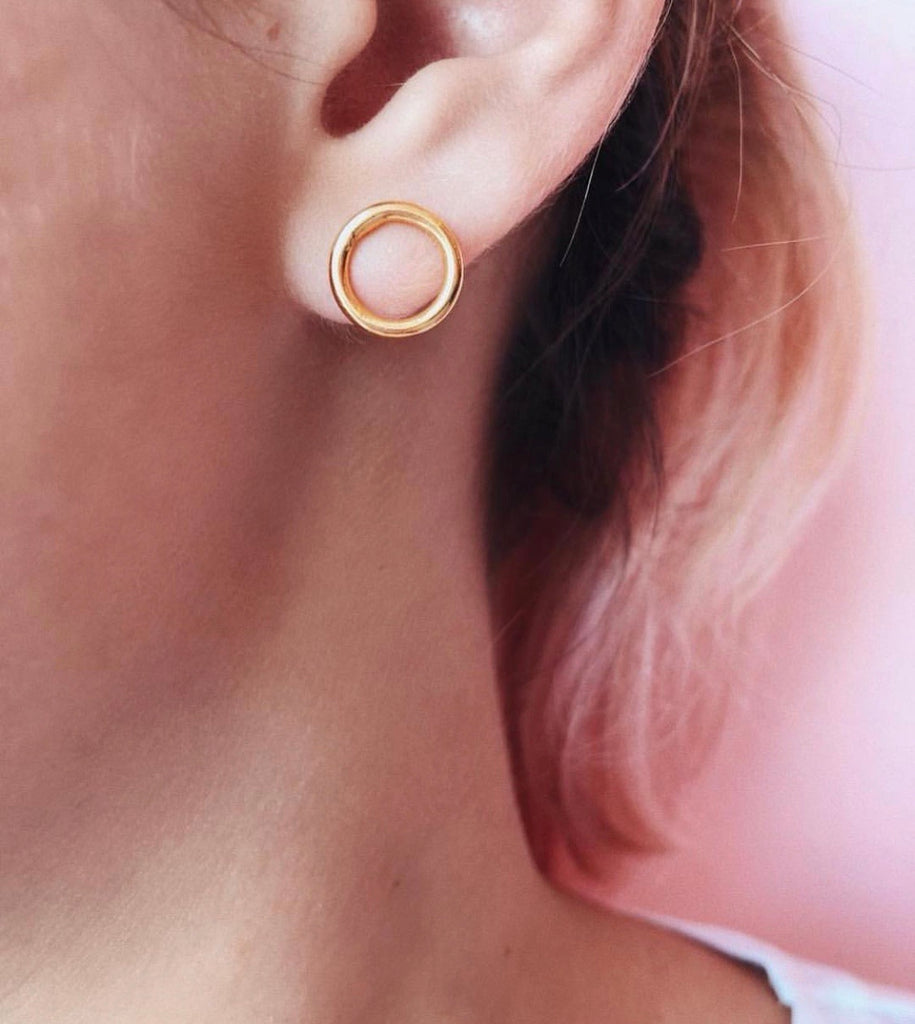 Mini Circle Earring