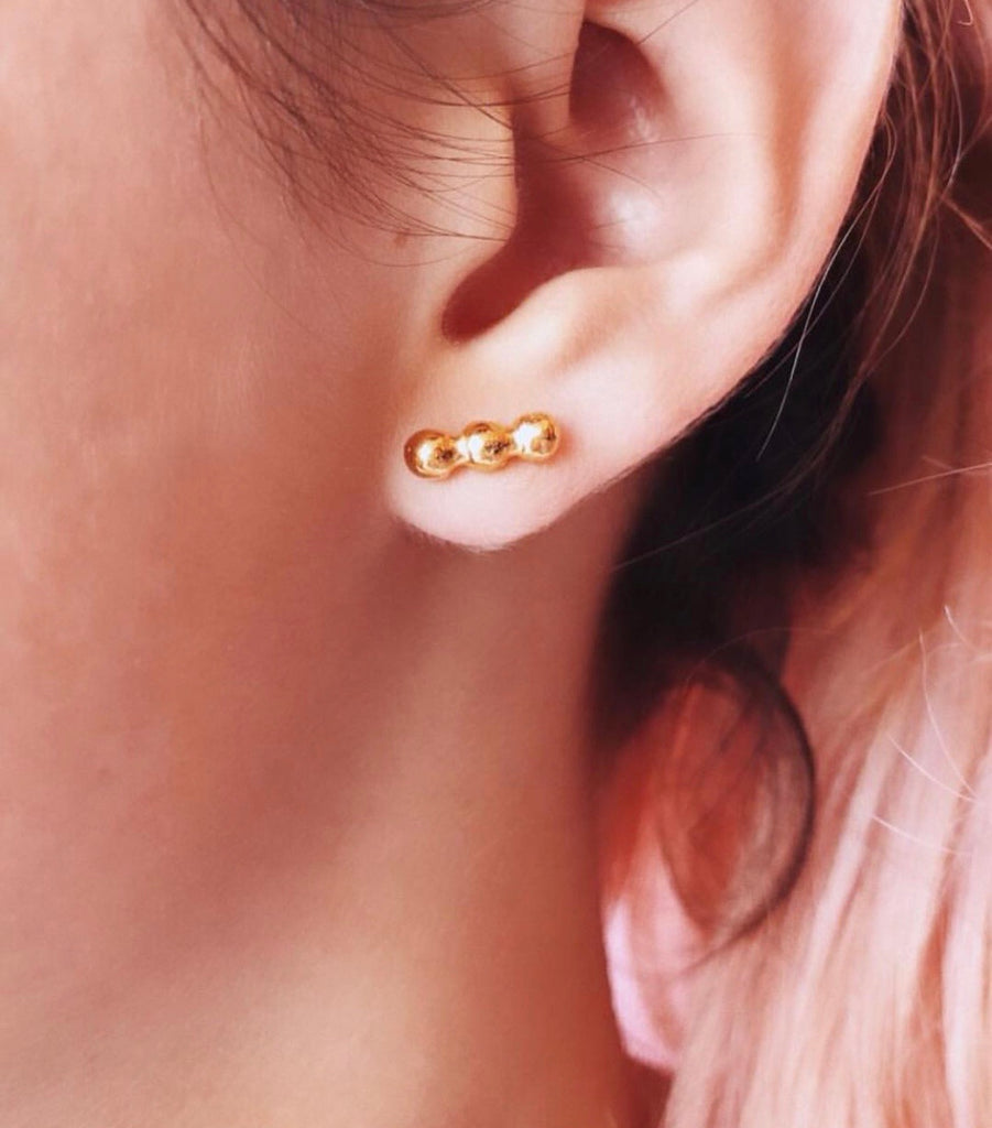 Trio Dot Earring
