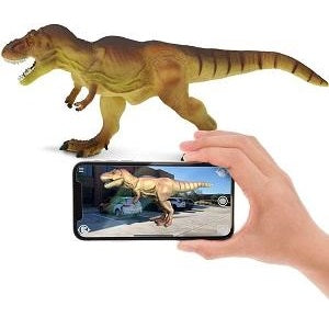 Toys with Augmented Reality